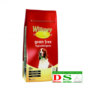 Willowy Gold Grain Free - Croquettes sans allergènes - sac 15kg, DSA45